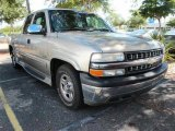 2002 Light Pewter Metallic Chevrolet Silverado 1500 Extended Cab #40551177