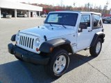 2011 Bright White Jeep Wrangler Sport S 4x4 #40551601