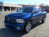 2011 Deep Water Blue Pearl Dodge Ram 1500 Sport Crew Cab #40551604