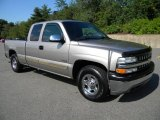 2002 Light Pewter Metallic Chevrolet Silverado 1500 LS Extended Cab #40571503