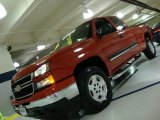 2007 Sport Red Metallic Chevrolet Silverado 1500 Classic LT Extended Cab 4x4 #40570967