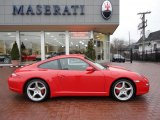 2008 Guards Red Porsche 911 Carrera 4S Coupe #40570623