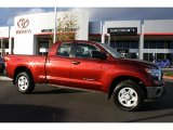 2010 Salsa Red Pearl Toyota Tundra Double Cab 4x4 #40570692