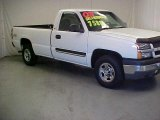 2003 Summit White Chevrolet Silverado 1500 LS Regular Cab 4x4 #40571277