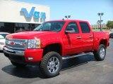 2009 Victory Red Chevrolet Silverado 1500 LT Z71 Crew Cab 4x4 #40571282