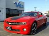 2010 Victory Red Chevrolet Camaro SS Coupe #40571290