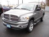 2007 Mineral Gray Metallic Dodge Ram 1500 SLT Quad Cab 4x4 #40570721