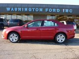 2011 Red Candy Metallic Ford Fusion SE V6 #40571053