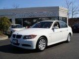 2007 Alpine White BMW 3 Series 328xi Sedan #4046149