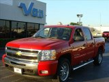 2010 Chevrolet Silverado 1500 LT Crew Cab 4x4 Data, Info and Specs