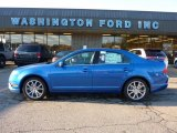 2011 Blue Flame Metallic Ford Fusion SEL #40571056