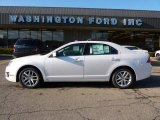 2011 White Platinum Tri-Coat Ford Fusion SEL #40571058