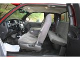 2000 Dodge Ram 2500 SLT Extended Cab 4x4 Agate Interior