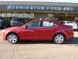 2011 Red Candy Metallic Ford Fusion SE #40571061