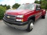 2005 Chevrolet Silverado 3500 Sport Red Metallic