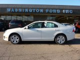 2011 White Suede Ford Fusion SE #40571063