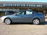 2011 Steel Blue Metallic Ford Fusion SE #40571065