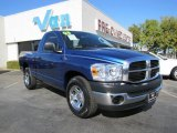 2008 Electric Blue Pearl Dodge Ram 1500 SXT Regular Cab #40571314