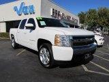 2008 Summit White Chevrolet Silverado 1500 LT Crew Cab #40571329