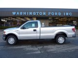 2010 Ingot Silver Metallic Ford F150 XL Regular Cab #40571087