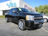2009 Black Chevrolet Silverado 1500 LT Crew Cab #40571332