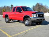 2003 Ford F250 Super Duty Red Clearcoat