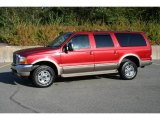 2001 Toreador Red Metallic Ford Excursion Limited 4x4 #40571551