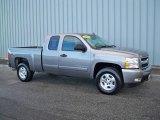 2007 Graystone Metallic Chevrolet Silverado 1500 LS Extended Cab 4x4 #4049243