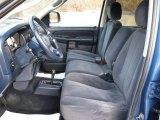 2002 Dodge Ram 1500 Sport Quad Cab 4x4 Navy Blue Interior