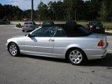 2001 Titanium Silver Metallic BMW 3 Series 325i Convertible #40642