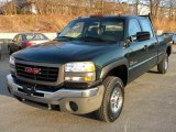 2003 Polo Green Metallic GMC Sierra 2500HD SLT Crew Cab #40571477