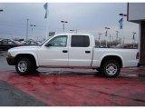 2004 Bright White Dodge Dakota SXT Quad Cab #4050051