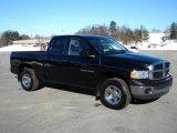 2002 Black Dodge Ram 1500 ST Quad Cab 4x4 #40571479