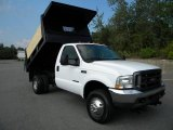 2002 Ford F350 Super Duty XL Regular Cab 4x4 Dump Truck Data, Info and Specs