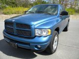 2003 Atlantic Blue Pearl Dodge Ram 1500 SLT Quad Cab 4x4 #40571483