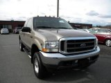 2002 Arizona Beige Metallic Ford F250 Super Duty Lariat SuperCab 4x4 #40571596