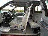 2000 Ford F250 Super Duty XLT Extended Cab 4x4 Medium Graphite Interior