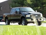 2005 Black Ford F350 Super Duty Lariat Crew Cab 4x4 #40571602