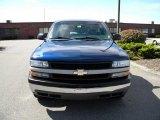 2000 Indigo Blue Metallic Chevrolet Silverado 1500 Regular Cab 4x4 #40571499