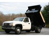 2005 Chevrolet Silverado 3500 Regular Cab 4x4 Chassis Dump Truck Data, Info and Specs