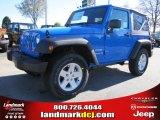 2011 Cosmos Blue Jeep Wrangler Sport S 4x4 #40667967