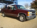 1999 Chevrolet Silverado 1500 Dark Carmine Red Metallic