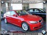 2009 Crimson Red BMW 3 Series 328xi Sedan #40668006