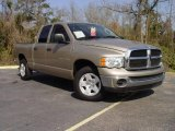 2005 Light Almond Pearl Dodge Ram 1500 SLT Quad Cab #4053103