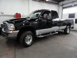 2003 Black Ford F250 Super Duty XLT SuperCab 4x4 #40668171
