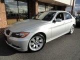 2008 Titanium Silver Metallic BMW 3 Series 335xi Sedan #40667901