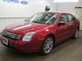 2008 Redfire Metallic Ford Fusion SEL #40668296