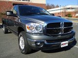 2008 Mineral Gray Metallic Dodge Ram 1500 SLT Quad Cab 4x4 #40700314