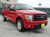 2010 Vermillion Red Ford F150 STX SuperCab #40710939