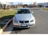 2007 Titanium Silver Metallic BMW 3 Series 335xi Sedan #40710633